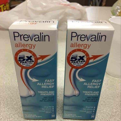 prevalin allergy nose spray - 2 for £6.00 (Tesco)