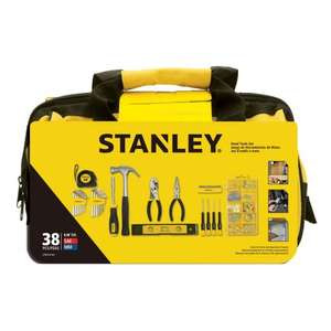 STANLEY LIGHT DUTY TOOL KIT, 38 PIECES - £15 @ B&Q - Free C&C