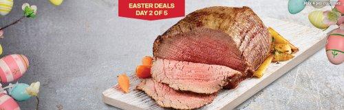 Butcher's Market  Fresh Beef Roasting Joint 1.2Kg £4.74 ( £3.95 kg) @ Iceland