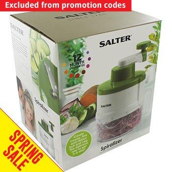 Salter Round Spiralizer - Green, £7 C+C @ The Works