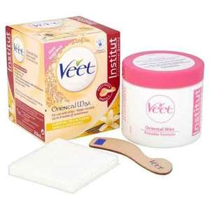 Veet Essential Oils and Floral Vanilla Warm Wax Microwavable Jar, 250 ml - £3.09 (Prime) / £7.08 (non Prime) at Amazon