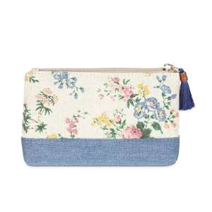 Vintage Floral Tassel Zip Purse  £4.00 (Free click and collect) @ Laura Ashley
