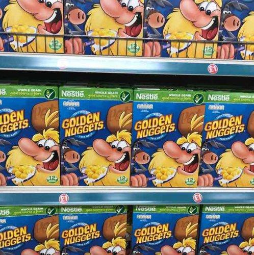 golden nuggets cereals £1 in Poundland