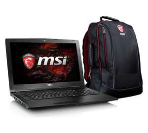 MSI GL62M 15.6 In 8GB 1TB Ci5 GTX1050 Gaming Laptop & Bag £799.99 @ Argos
