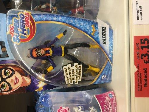 DC superhero girls 6inch figures reduced to £3.15 instore @ sainsburys (Swansea)