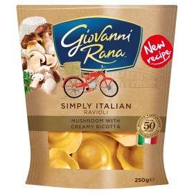 Giovanni Rana Tortelloni/Ravioli 250g was £1.89 now £1.00 (Rollback Deal) @ Asda