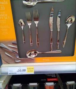 Tesco's cutlery set £30 instore (found Llanelli)