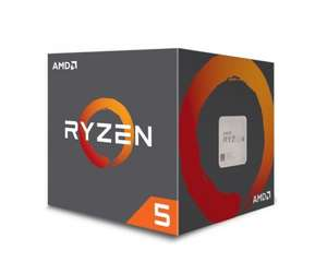 AMD Ryzen 5 1600 S 65 W AM4 Six Core 16 MB Cache CPU with Wraith Spire Cooler @ Amazon.co.uk for £205.50