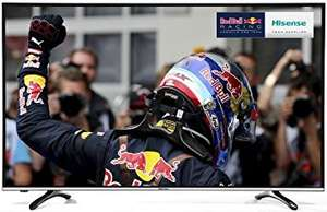 Hisense 49 - Inch Widescreen 4K Smart LED TV with Freeview HD  [Energy Class A] - Amazon - £369