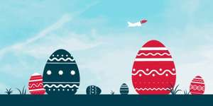 Easter Sale starts tomorrow 12 April 00:01 GMT @ Norwegian