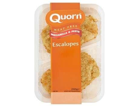 Quorn Mozzarella & Pesto Escalopes (Pack of 2 = 240g) ONLY 50p @ Asda (Using CheckoutSmart)