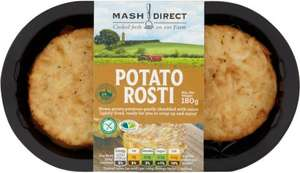 Mash Direct Potato Rosti 180g £1.20 @ Morrisons (60p using CheckoutSmart)
