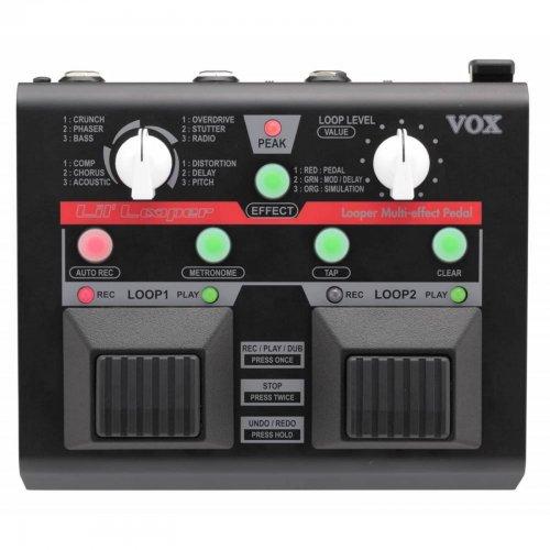 VOX LIL LOOPER DUAL BANK LOOPER/MULTI-EFFECTS PEDAL - £89.99 - INTA AUDIO