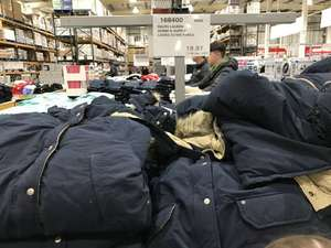 Ralph Lauren Denim and Supply Ladies Navy Down Parka £23.96 @ in store at Costco (Glasgow)