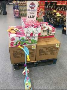 my little pony scooter £3.99 instore @ B&M