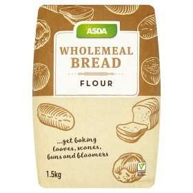 Asda wholemeal strong flour (for bread ) 79p 1.5kg - online and instore