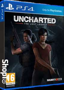 Uncharted: The Lost Legacy (PS4) Pre Order £26.86 @ ShopTo