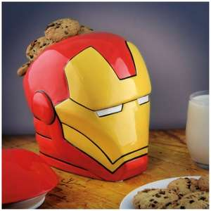 Iron Man Cookie Jar £9.98 was £24.99 @ Zavvi