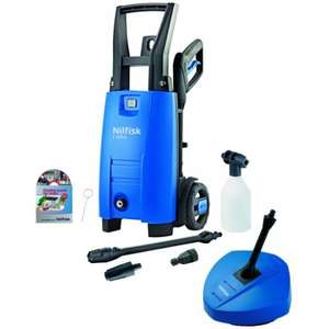 Nilfisk 110bar pressure washer with patio cleaner, £69.99 @ maplin (free C&C)