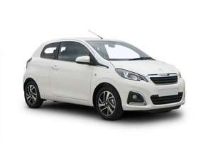 Peugeot 108 Hatchback 1.0 Active 5dr at Leaseshop £1867 for 12 months Personal Lease