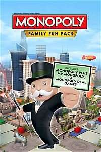MONOPOLY FAMILY FUN PACK £9.60 with Gold @ XBOX STORE