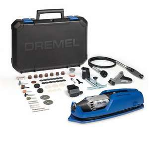 Dremel 4000-4/65 Corded Multi-Tool with Removable Tool Holder £72.19 Deal Of The Day Amazon