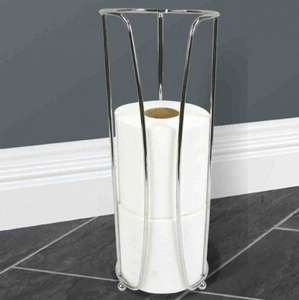 Chrome Toilet Roll holder £1.99 was £2.99  @ Poundstretcher