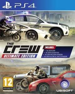 The Crew Ultimate Edition PS4/XO £9.99 delivered @ GAME