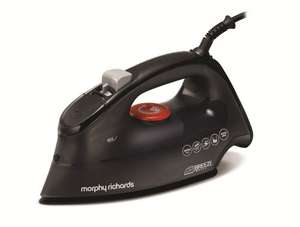 Morphy Richards Black Breeze steam iron 2600w - £14.39 (with code) @ Morphy Richards