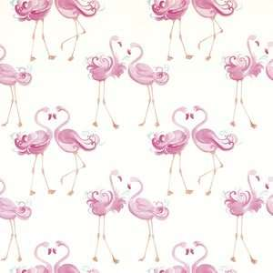 Stunning 10M rolls Flamingo / Dinosaur / Ballerina / Cheeky Monkey + others Wallpaper was £20 now £9 C+C @ Laura Ashley