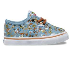 Toy Story Toddler (sizes 3.5 - 9.5) Vans £19.50 plus £3 delivery. @ vans.co.uk