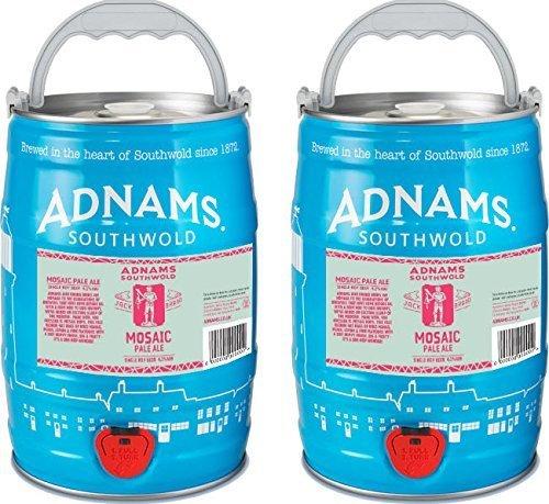 Adnams Mosaic Pale Ale. 2 x 5L mini kegs £22.21 @ Amazon