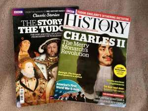 BBC History Magazine (April edition) and The Story of the Tudors - £4.99 instore @ Tesco