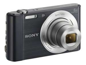 Sony DSCW810 20.1 Megapixel Compact Digital Camera - Black - £78.98 @ Ebuyer