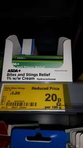 ASDA Hydrocortisone Cream/Bite and Sting relief - 20p