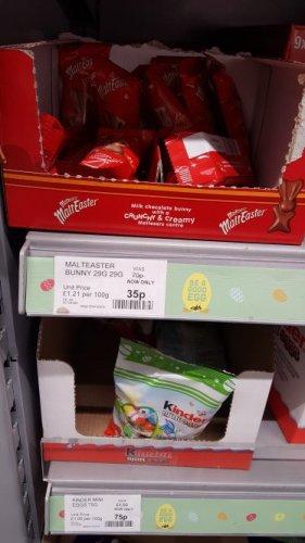 Malteaster Bunny 29g half-price @ Co-Op for 35p
