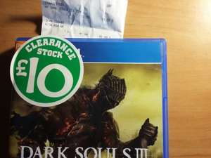 Dark Souls 3 (PS4) *STOCK CLEARANCE (PP)* @ Smyths for £10 (instore)