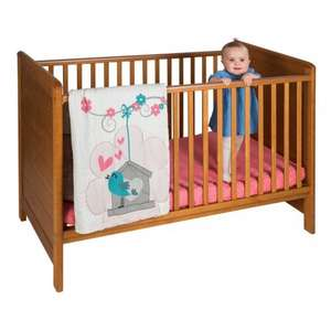 Jakson cotbed £99.99 at smyths for potentially £79.99 (£20 off for £100 spend) plus free Playgro quilt