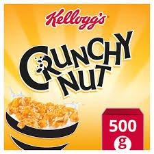 Kellogg's Crunchy Nut Cornflakes 500g £1.34 @ Iceland