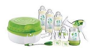 Half price MAM starter sets and bottles until Monday eg breastfeeding & steriliser starter set was £100 now £50 @ Mothercare