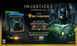 Injustice 2 ultimate edition (PS4/XB1) £41.99 @ Grainger games