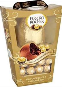 Ferrero Rocher Easter egg £3.99 approx less than half price at Home Bargains - £3.99