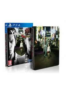 [PS4] Yakuza Kiwami Steelbook Edition - £24.85 (Base.com)