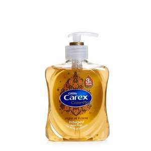 Carex Care Hand Wash + Plus Argan Oil 250ml - 90p @ Wilkos