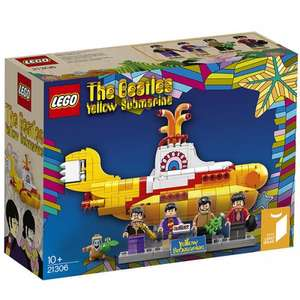 LEGO 21306 The Beatles Yellow Submarine £43.15 delivered @ Jadlam