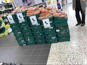 large bag of carrots...... 1p! (light hearted joke, unless you're a rabbit, Easter holiday special) @ Tesco Basildon