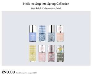 Deal stacking at Nails Inc - approx £135 of products for just £35 & FREE delivery