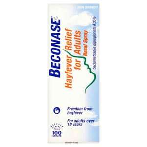 Beconase Nasal Spray (100 Sprays) - Wilko for £3