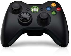 Grade A Xbox Black Wireless Controller (Brown Box / 12 Month Warranty) - £15.99 - Student Computers