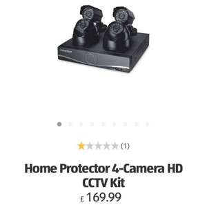 ALDI cctv HD 4 camera kit - £169.99